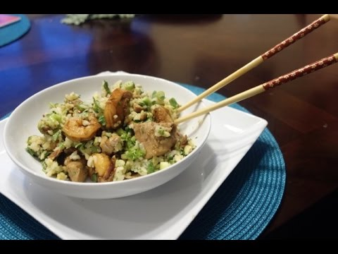 How to Make Tuna Rice Bowls from left over Sushi Ingredients