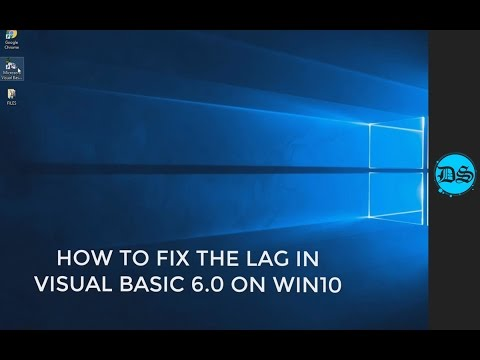 How to Fix the Lag in Visual Basic 6.0 (Windows 10)