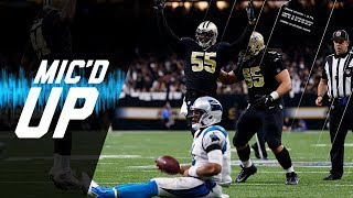 Panthers vs. Saints Mic