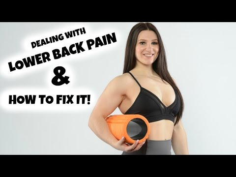Dealing With LOWER BACK PAIN & How To FIX It!
