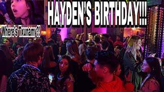 Txunamy gets LOST at Hayden Summerall's birthday party?!!   Familia Diamond
