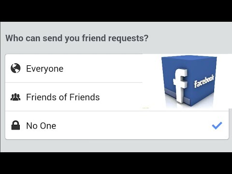 No One Can Send Me Friend Request on Facebook