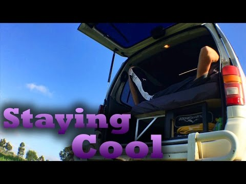 Off The Grid - Stay Cool In Hot Weather | BecauseiVan
