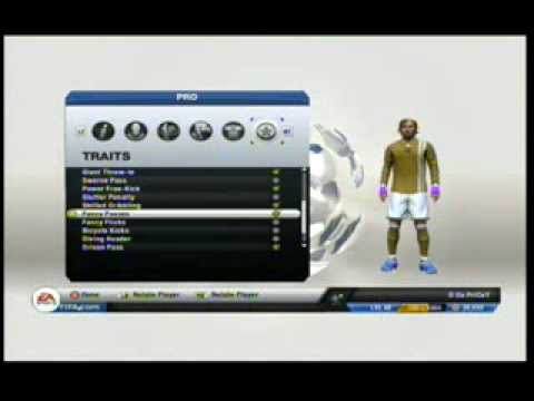 Fifa13 Pro clubs ST perfect height and weight