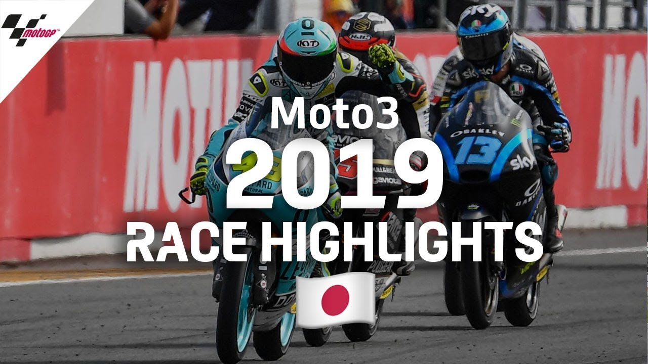 2019 #JapaneseGP | Moto3 Race Highlights