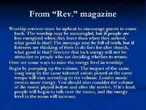 Mike Hoggard: The Emerging Church (10/13)