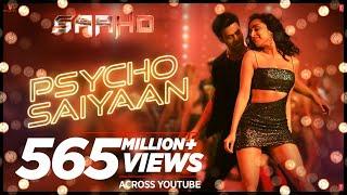 Psycho Saiyaan | Saaho | Prabhas, Shraddha Kapoor | Tanishk Bagchi, Dhvani Bhanushali, Sachet Tandon
