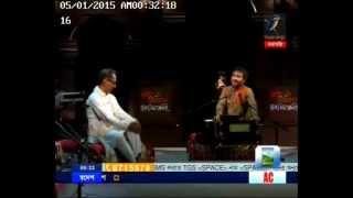 Anindita Choudhury Live Performance @ Maasranga tv (First Part)