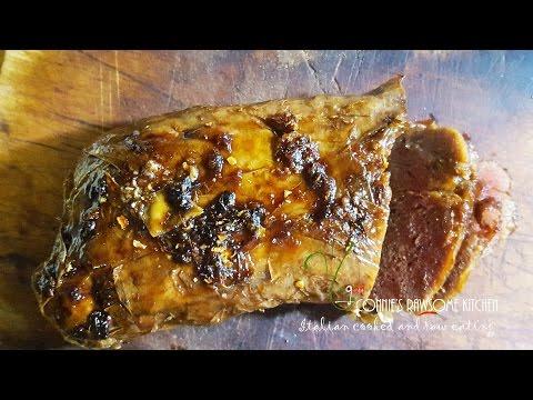 VEGAN CRISPY DUCK MEAT  | Connie's RAWsome kitchen SEITAN spicy ginger sauce bonus