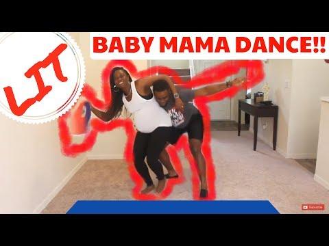 Baby Mama Dance!! (Lit & 9 months pregnant!!!) —HAITIAN REMIX EDITION—
