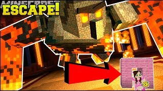Minecraft: ESCAPE SUPER GOLEM!!! - STORY MODE SEASON 2 - [EPISODE 4] [4]