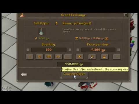 35m A Day. Fastest way to make money on runescape!