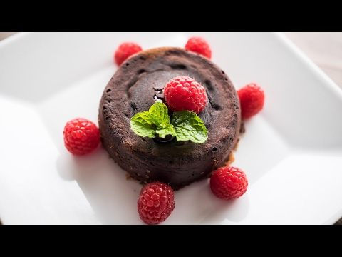 Chef Becky's Chocolate Lava Cakes...Warm, Melty, Delicious!!!