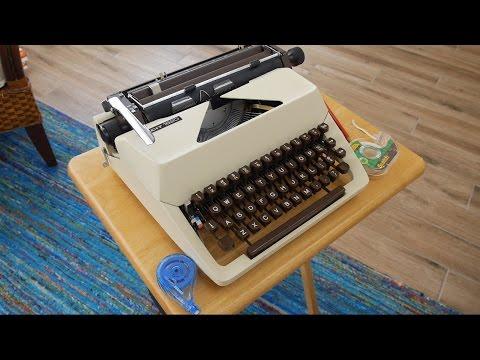 Typewriter Video Series - Episode 44: Erasing Typewriter Ink