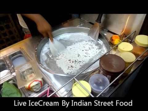 Live Ice Cream rolls - Instance Ice cream - Pan pasand Ice cream