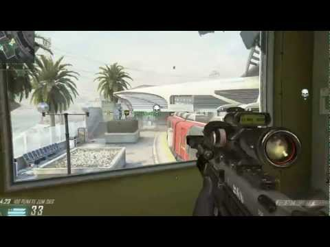 Call of Duty Black Ops II sniper noob