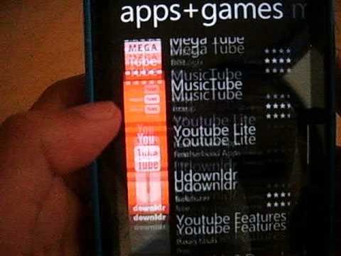 How to install a app on nokia lumia 520.