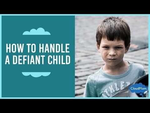 How Do You Handle a Defiant Child? | CloudMom