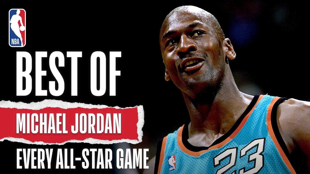 Best Of Michael Jordan From Every All-Star Game | The Jordan Vault