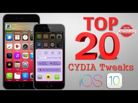 TOP 20 Brand New Tweaks For iOS 9/iOS 10.2 Jailbreak - Part 3
