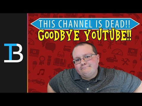 This Channel Is DEAD!!! - I'm Starting Another One...