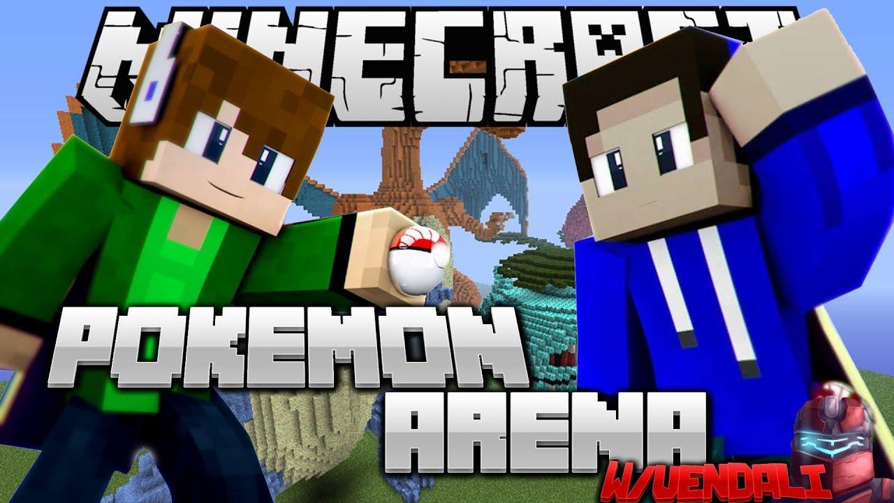 Kdo uloví toho nejvzácnějšího POKEMONA?| Pokemon Arena #4 | Pokémon GO v Minecraftu CZ/SK w/Vendali
