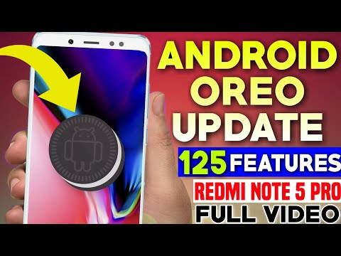 Android Oreo New Update With UNLIMITED CUSTOMIZETION For Redmi Note 5 Pro