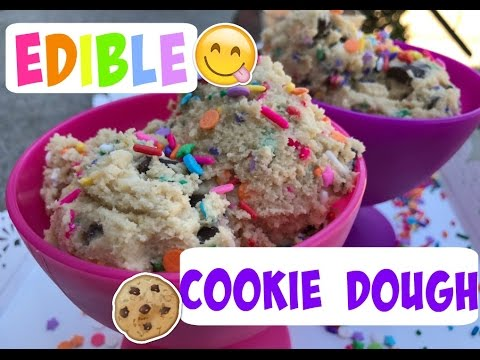 EDIBLE COOKIE DOUGH|| Chocolate Chip Cookie Dough You Can Eat!!!
