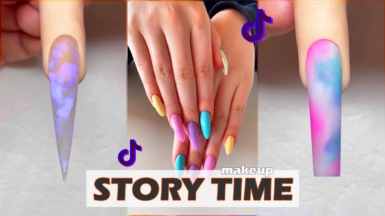 NAIL ART STORYTIME #6 TikTok Story time VORTAL
