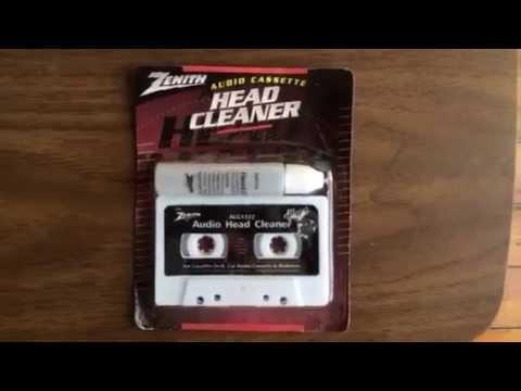Zenith audio cassette head cleaner zn 16750