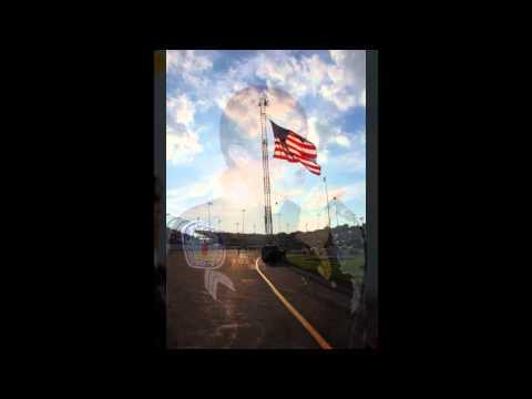 God Bless America sung by Richmond Police Sergeant Flippo at Richmond International Raceway