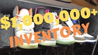 $1,000,000+ WORTH OF INVENTORY AT COOLKICKS LA?