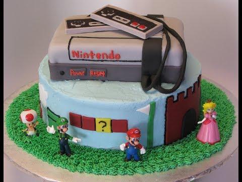 Nintendo's Super Mario Brothers Birthday Cake