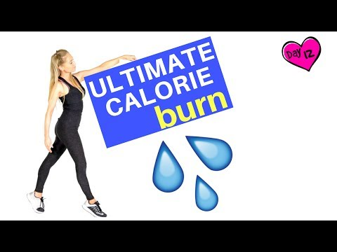 Calorie Burning Exercise Workout 💦 - increase your metabolism & burn fat faster- Home HIIT Routine