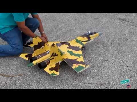 RC Sukhoi Su-35 EDF Jet with Thrust Vectoring