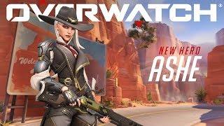 [NOW PLAYABLE] Introducing Ashe   Overwatch