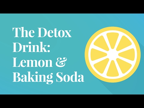 The Detox Drink: Lemon & Baking Soda