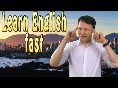 How to Learn English Fast - Learn English Live 29 with Steve Ford