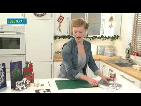 HOW TO MAKE PAPER CUT CHRISTMAS CARDS by Hannah Read-Baldrey