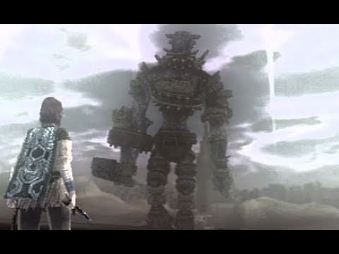 Shadow of the Colossus: Walkthrough - Part 2 [Colossus 3] - Gaius (SotC Gameplay & Commentary) [PS3]