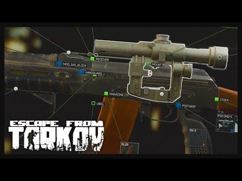How I mod my AKM & AK74 - Escape from Tarkov