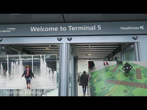 Airport T5 Heathrow Vlog