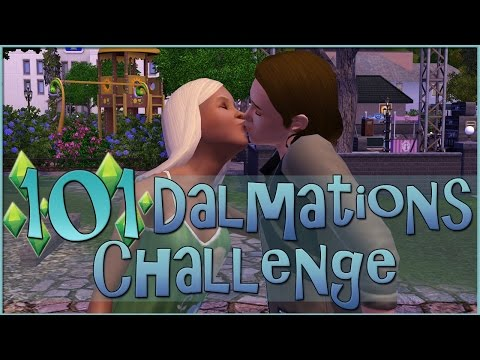 Spring Kisses & Family Mysteries || Sims 3: 101 Dalmatians Challenge  - Episode #76