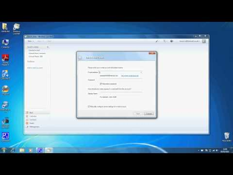 How To Set Up Email Account On Windows Live Mail 2011