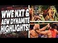WWE NXT amp AEW Dynamite Highlights Nov 20 2019 WrestleTalk Live