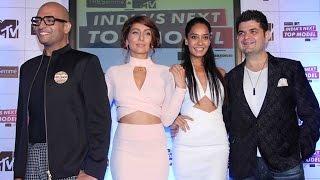 Lisa Haydon, Anusha Dandekar & Akash Sharma @ MTV India's Next Top Model Launch