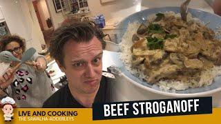 LIVE & COOKING - BEEF STROGANOFF