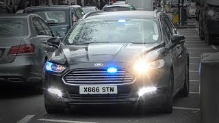 Most beautiful unmarked car? 3x unmarked police cars responding in London