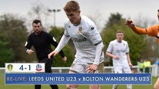 Re-live: Leeds United U23 4-1 Bolton Wanderers U23: Professional Development League
