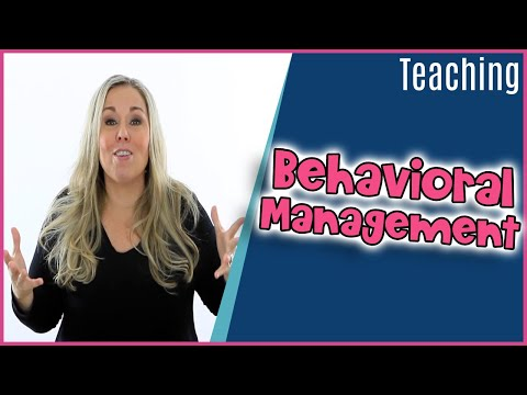 How I Structure my Behavior Management Plan